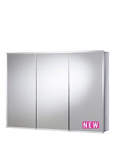 croydex-kennet-triple-door-tri-view-cabinet