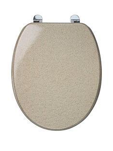 croydex-sandstone-moulded-wood-toilet-seat