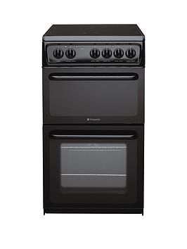 hotpoint-newstylenbsphae51ks-50cm-twin-cavity-electric-cooker-black