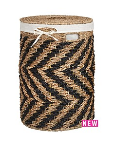 large-zig-zag-laundry-hamper