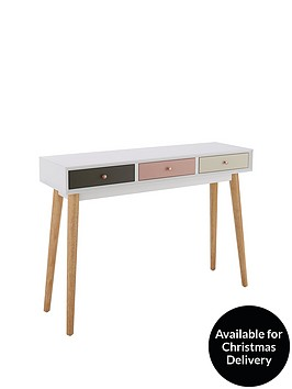 ideal-home-orla-blush-console-table