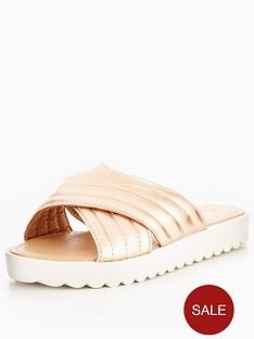 miss-kg-miss-kg-lara-cross-strap-pumped-up-flat-sandal