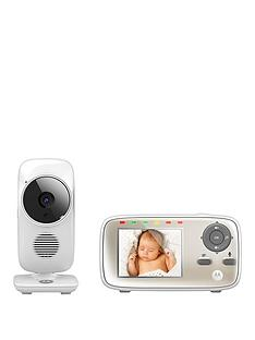 Motorola Baby Monitor MBP483 Digital Wireless Video Baby Monitor