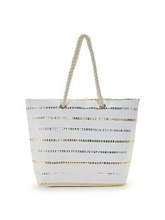 v-by-very-metallic-stripe-beach-bag