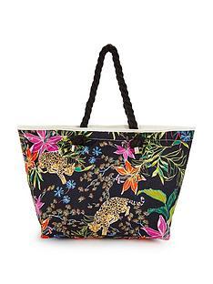 v-by-very-floral-leopardnbspbeach-bag