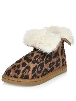 river-island-leopard-slipper-bootie