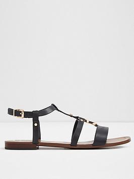 aldo-aldo-evlyn-flat-sandal-with-buckle-fastener