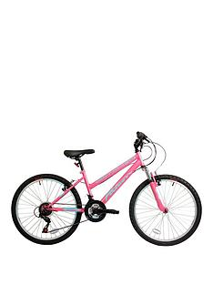 Falcon Venus Front Suspension Girls Mountain Bike 24 inch Wheel