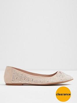 aldo-indro-mesh-round-toe-ballerina