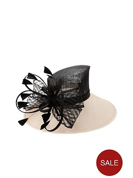 v-by-very-large-bow-amp-feather-occasion-hat-blushblack