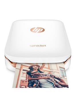 Hp Hp Sprocket Photo Printer With Optional Additional 20 Sheets Of Hp Sprocket Sticky-Backed Photo Pape - Sprocket Only