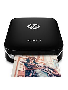 Hp Hp Sprocket Photo Printer With Optional Additional 20 Sheets Of Hp Sprocket Sticky-Backed Photo Pape - Sprocket And 20 Sheets Of Photo Paper