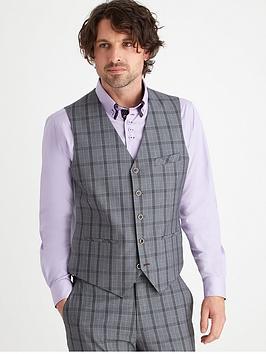 joe-browns-check-suit-waistcoat