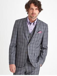 joe-browns-check-suit-blazer