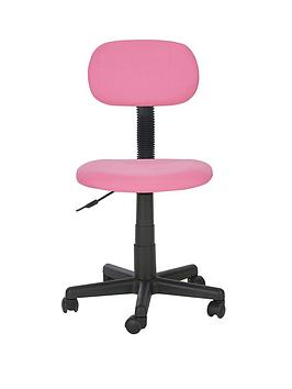 Gas Lift Office Chair - Pink