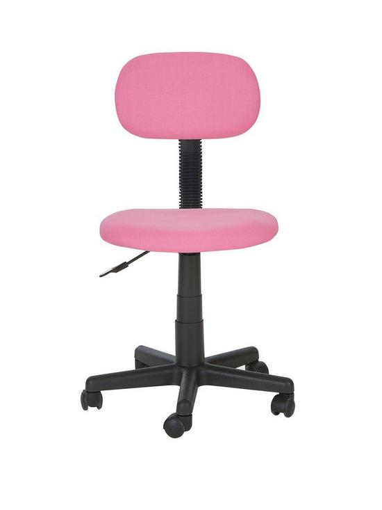 Gas Lift Office Chair   Pink