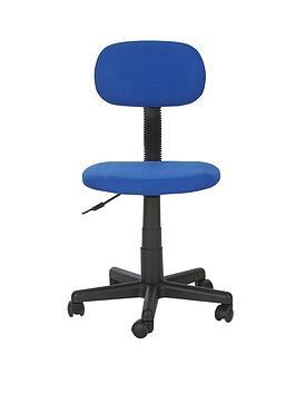 Gas Lift Office Chair - Blue