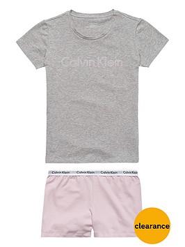 calvin-klein-2pce-logo-short-pj-set