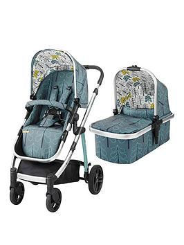 Cosatto Wow Pushchair &Amp; Carrycot - Fjord