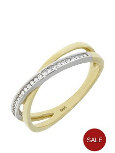 love-diamond-9ct-gold-diamond-crossover-eternity-ring
