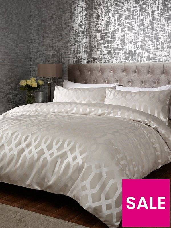 Ideal Home Florence Geometric Duvet Cover Set Very Co Uk