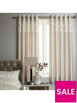 ideal-home-florence-geometric-lined-eyelet-curtains