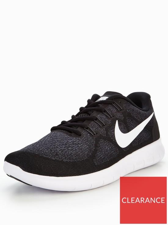 b2817b8c10783 Nike Free RN 2 - Black White