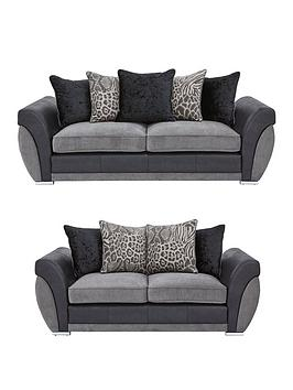 Hilton 3-Seater + 2-Seater Sofa Set (Buy And Save!)