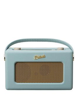 Image of Roberts Revival Istream2 Dab/Dab+/Fm Internet Radio - Duck Egg