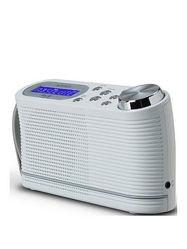 Roberts Play10 Radio Dab/Dab+/Fm Digital Radio With Simple Presets - White