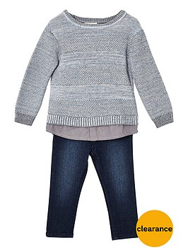 river-island-mini-boys-grey-knit-jumper-and-jeans-outfit