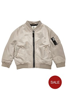 river-island-mini-boys-stone-bomber-jacket