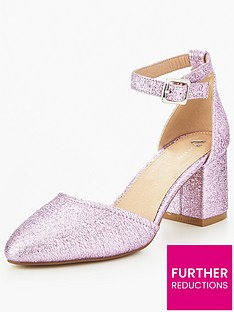 v-by-very-sparkle-metallic-block-heel-shoe-pink