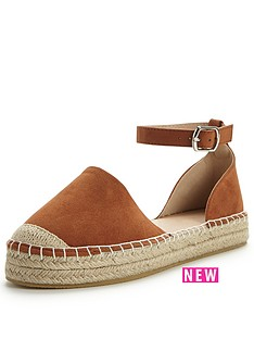 v-by-very-minnie-flat-espadrille-tan