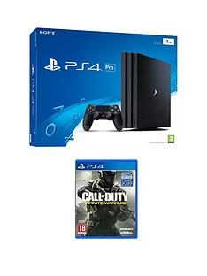 playstation-4-pro-console-with-call-of-duty-infinite-warfare-plus-optional-extra-controller-andor-12-months-playstation-network