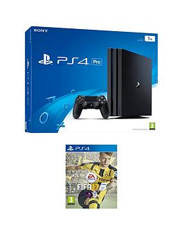 playstation-4-pro-1tb-console-with-fifa-17-and-optional-extra-dualshock-controller-andor-12-months-playstation-network