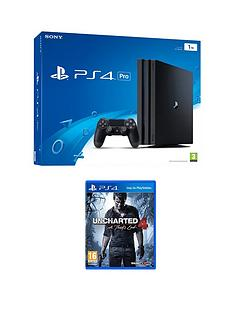 playstation-4-pro-console-with-uncharted-4-a-thiefs-end-plus-an-optional-extra-dualshock-controller-andor-12-months-playstation-network