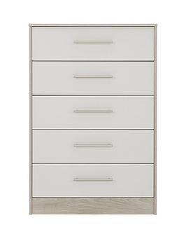 Arden Ready Assembled 5 Drawer Chest