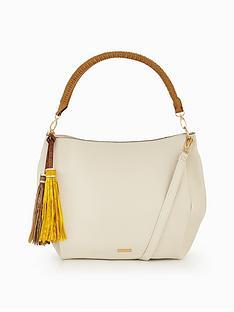 aldo-lowell-tassle-detail-shoulder-bag