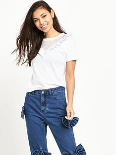 glamorous-cut-out-detail-tee