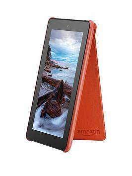 amazon-kindle-fire-7-tablet-pu-cover-tangerine