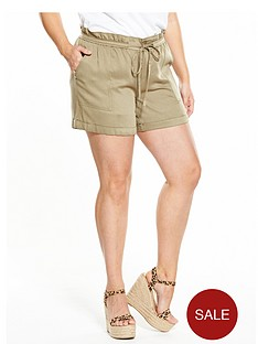 v-by-very-curve-paper-bag-waist-viscose-short
