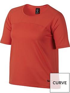 nike-pro-hypercoolnbspshort-sleeved-top-plus-sizenbsp