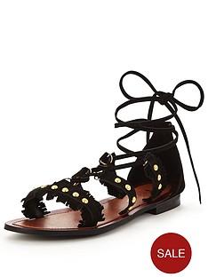 v-by-very-sandy-suede-tassel-ghillie-sandal-black