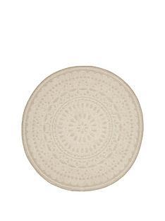 crochet-effect-circle-rug