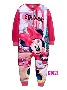 minnie-mouse-girls-fleece-sleepsuit