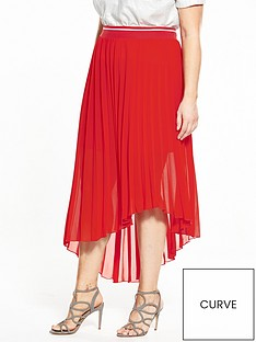 elvi-pleated-chiffon-skirt-red