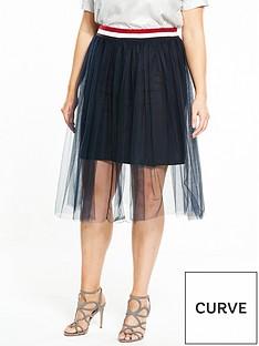 elvi-mesh-sport-skirt-navy