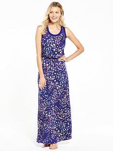 v-by-very-rib-trim-maxi-dress