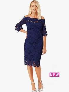 paper-dolls-paper-dolls-navy-bardot-crochet-lace-dress